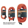 General Cable Outdoor/Indoor Extension Cords