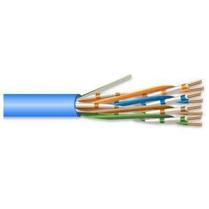 Genesis 6361-21-06 4 Pair 23 AWG CMP CAT6 - Blue - No Spline