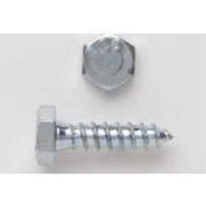 "Gexpro Services 5/16X4HHLGUNSSPA Hex Lag Bolt, Stainless Steel, 5/16"" x 4"""
