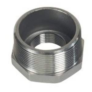 "Gibson Stainless & Specialty 7500RB-3/4X1/2 Reducing Bushing, Threaded, Size: 3/4"" x 1/2"", Stainless Steel"