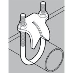 "Gibson Stainless & Specialty 1075 Right Angle Clamp, Size: 3/4"", Material: Stainless Steel"