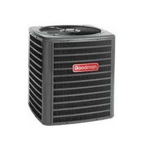 Goodman GSX130301 Split System Air Conditioner, Energy-Efficient, Condenser R-410A, 13 Seer,  2-1/2 Ton, 208/230 Volt, Single Phase, Heavy-Gauge, Galvanized Steel Cabinet With Louvered Sound Control Top