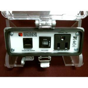 Grace Engineered Products P-R13-H3R3 Programming Port, 10', Simplex, 3A Circuit Breaker, Nema 12/4