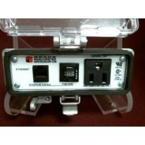 Grace Engineered Products P-R2-H3R3 Programming Port, Cat 5e Ethernet, Simplex, 15A, 120VAC, 3A Breaker