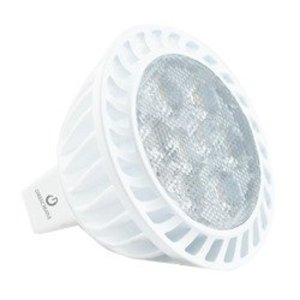 Green Creative 7MR16G3DIM/827FL36 LED Lamp, Dimmable, MR16, 7W, 12V, FL36