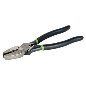 "Greenlee 0151-09CD Pliers,side Cut 9"" Dip Crimp"