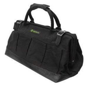 "Greenlee 0158-11 16 Pocket Electrician's Canvas Bag -  HxWxD: 20"" x 12"" x 10"""