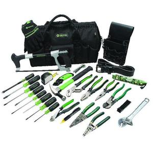 Greenlee 0159-11 28-Piece Master Electrician's Tool Kit