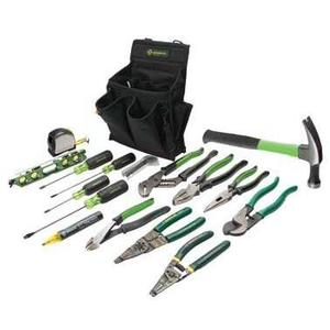 Greenlee 0159-12 17-Piece Journeyman's Tool Kit