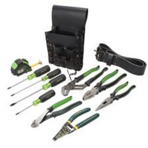 Greenlee 0159-13 12-Piece Electrician's Tool Kit