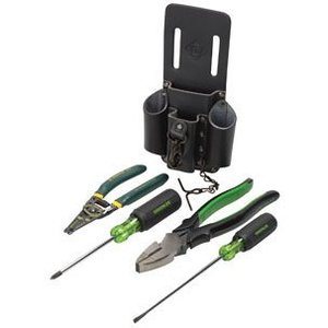Greenlee 0159-14 5-Piece Electrician's Tool Kit