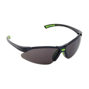Greenlee 01762-05S Safety Glasses, Half Frame, Two Tone, Smoke