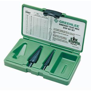 Greenlee 03607 Kit-step Bit #1 & #3 (03607)