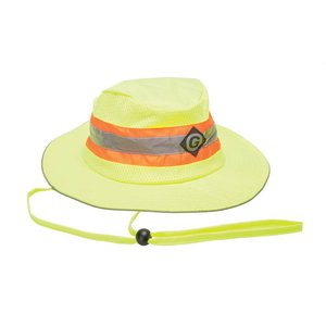Greenlee 04761-02 Hat, Hi-Vis Wide Brim