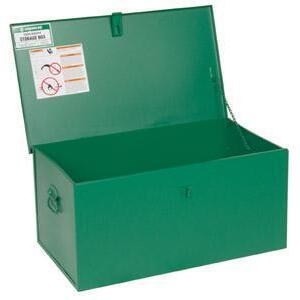 """Greenlee 1531 Steel Storage Welding Box -  HxWxD: 18"""" x 31"""" x 15"""""""
