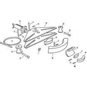 Greenlee 2725AA Cylinder Head Pin Unit