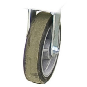 "Greenlee 51488 Fixed, Rigid Caster, Diameter: 8"", Tread: 2"""