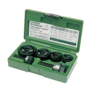 Greenlee 7235BB Conduit Punch Kit, 1/2 - 1-1/4""