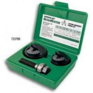Greenlee 7237BB Conduit Punch Kit, 1-1/2 - 2""
