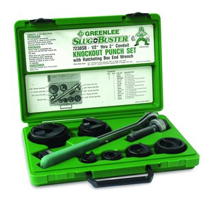 Greenlee 7238SB Knockout Punch Kit