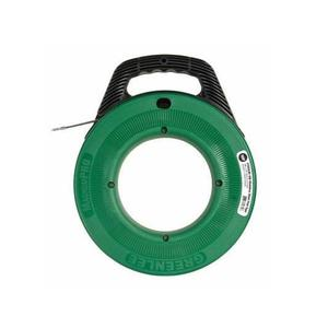 Greenlee FTSS438-200 Fish Tape with Winder Case, 200'