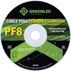 Greenlee PF8 Estimator CD-Cable Puller