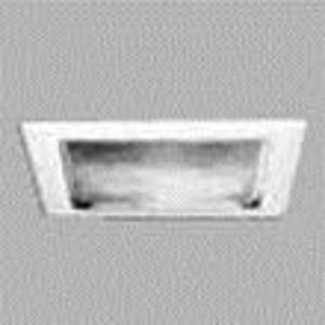 """Halo 23P 11 5/8"""" Trim Square Fresnel Lens, White Trim"""