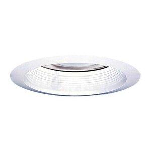 "Halo 30WAT Reflector Super Trim, Air-Tite, 6"", White"