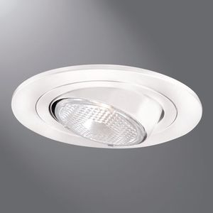 "Halo 996SN 4"" Trim Eyeball Par20 Lamp Satin Nickel Trim With Satin Nickel Eyeball"