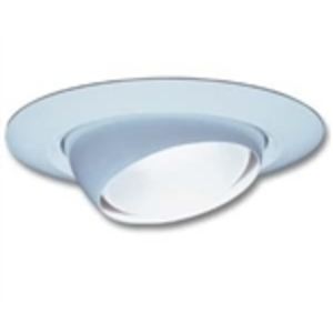 "Halo ERT704 Eyeball Trim, 6"", White"