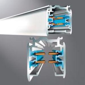 Halo HTEK4123 12', 20 Amp Track Section, 2-Circuit/2- Neutral 277V, White