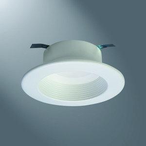 "Halo RL460WH935PK 4"" Retrofit Baffle-Trim, LED Module, 120V, 3500K, White"