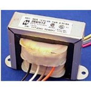 Hammond Mfg 266J24B Transformer, Control, Low Voltage, 24VA, 117/234VAC, Primary