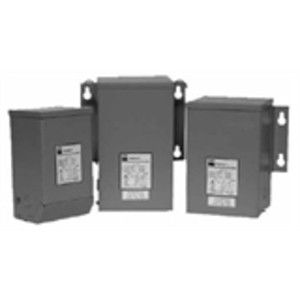 Hammond Power Solutions C1F1C0LES Transformer, Encapsulated, Industrial, 1KVA, 240/480 x 120/240V