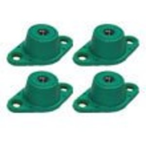 Hammond Power Solutions NMP2 Vibration Isolaters, Steel and Neoprene, for 381 - 760 lbs
