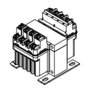 Hammond Power Solutions PH100AJ Transformer, Control, PH Series, 100VA, 600 - 120VAC, 1PH, Fused