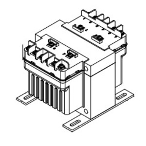 Hammond Power Solutions PH350MGJ Transformer, Control, 350VA, 280/277/208 - 120 x 240, Group K