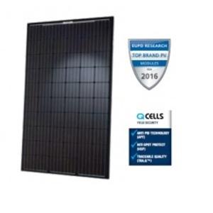 Hanwha Q CELLS Q-PEAK-BLK-G4.1-290 Solar Module, Monocrystalline, 290W, 60 Cells, Black Frame