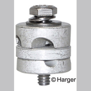 Harger Lightning & Grounding FGC2 FENCE GROUND CLAMP 2