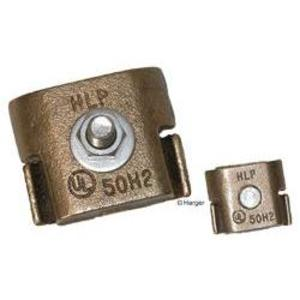 Harger Lightning & Grounding B1BC Lightning Protection, 1 Bolt, Parallel Groove Connector, Copper