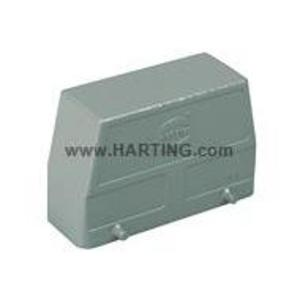 Harting 9300160801 Metal Hood/Housing, No Entry, Size: 16B, Aluminum/Powder Coated