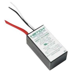 Hatch VS1260WD Lighting Transformer, Electronic, 60W, 12VDC, 120VAC, Dimmable