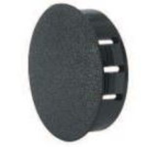 "Heyco 2663 Knockout Seal, Type: Dome Plug, Diameter: 0.625"", Non-Metallic, Black"