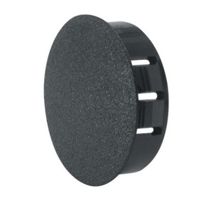 "Heyco 2733 Knockout Seal, Type: Dome Plug, Diameter: 1.187"", Non-Metallic, Black"
