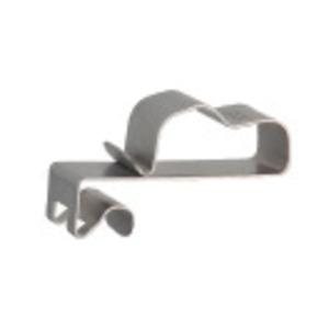 Heyco S6441 SunRunner 2-U Cable Clip, Stainless Seel
