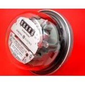 Hialeah Meter Company S-02S20023E Meter, Watt/Hour, 200A, 240VAC, 3-Wire, 5 Digit