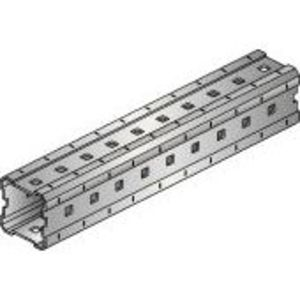 "Hilti 304798 Girder, Hot-Dip Galvanized, 3-9/16"" H x 9' 10"" Long"