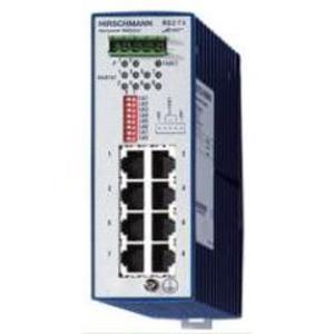 Hirschmann 943-686-003 Ethernet Rail Switch, Entry Level, Industrial, 8 x 10/100Base-TX