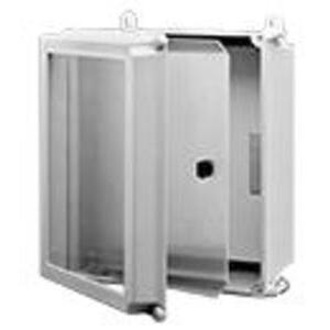"Hoffman A14SPK12C Swing-Out Panel Kit, 14"" x 12"", Fiberglass"