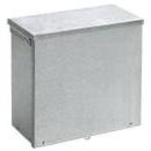 "Hoffman A24R248GV Enclosure, NEMA 3R, Screw Cover, 24"" x 24"" x 8"""